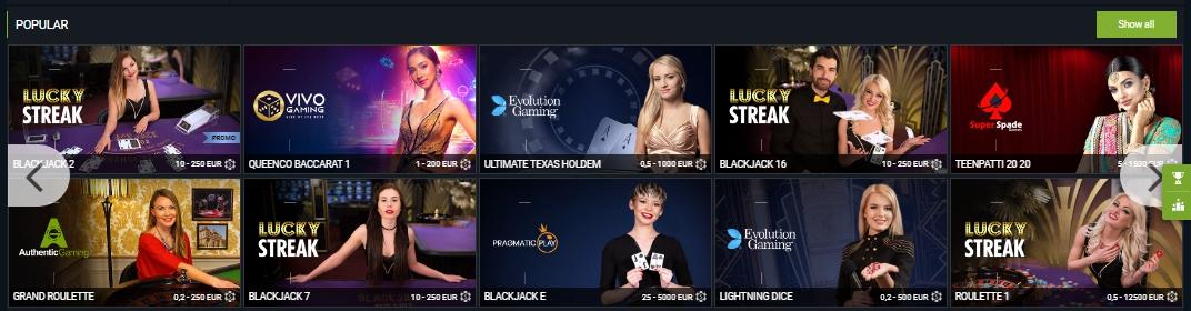 1xBet Casino 1xBet