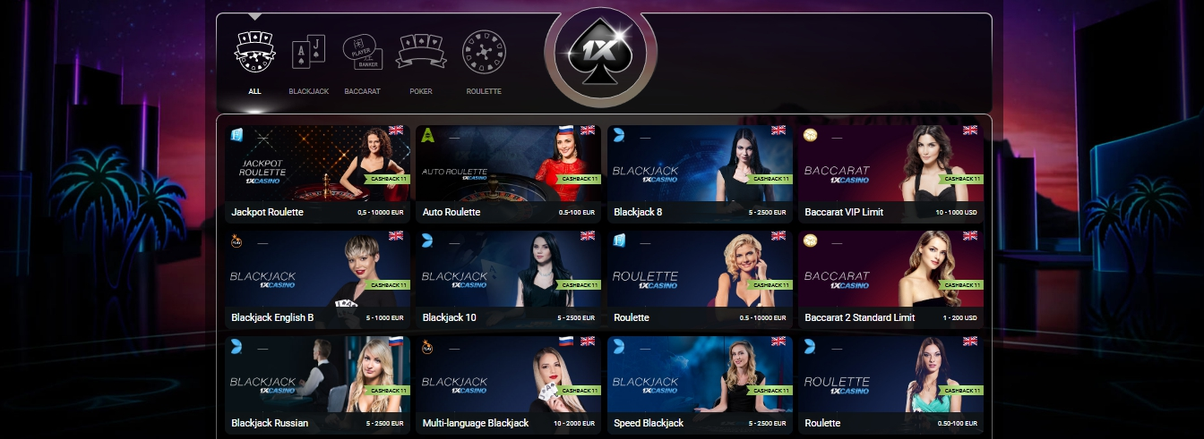 1xbet roulette