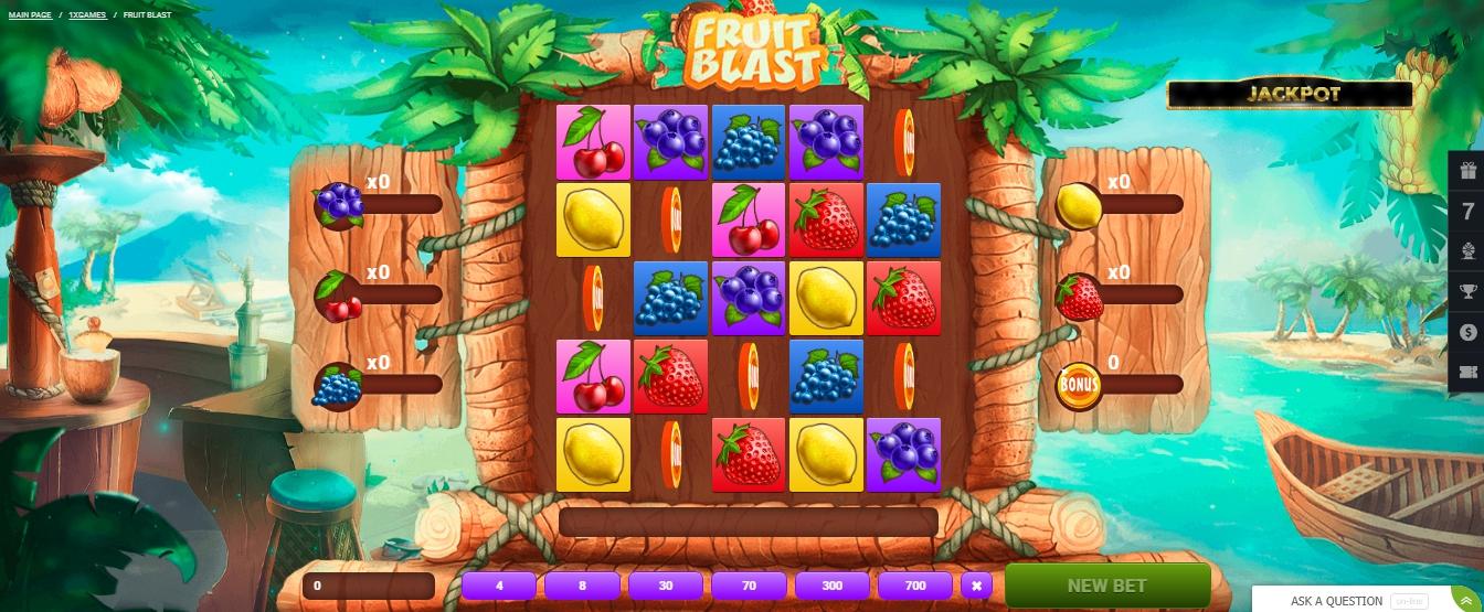 1xBet casino games demo