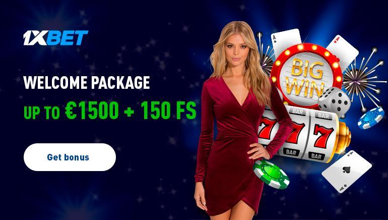 1xBet casino live